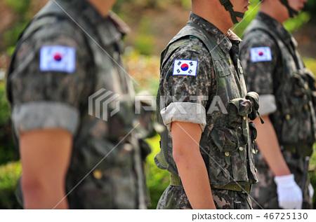 韓國國旗隸屬於韓國軍隊制服 46725130