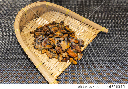 貽貝,海鮮,水產品,乾魚,幹糖,高達,海藻幹,海鮮乾貨,乾貨,海鮮幹,海鮮幹 46726336