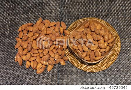杏仁,堅果,健康食品,健康食品,皮膚美容,飲食,維生素E,鈣,鐵,不飽和脂肪酸,維生素 46726343