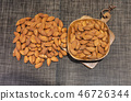 Almonds, nuts, skin beauty, diet, vitamins, vitamin E, baked almonds, healthy, healthy food, pregnant women 46726344