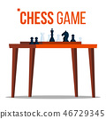 game chess vector 46729345