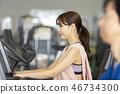 女性健身健身房 46734300