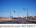 Tokyo Metropolitan Route No. 256 Hinobashi Minamizume crossing 46738457