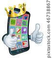 phone mobile cartoon 46738867
