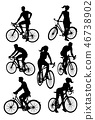 bicycle silhouette bike 46738902