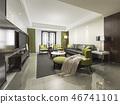 室内装饰 时尚 现代 46741101