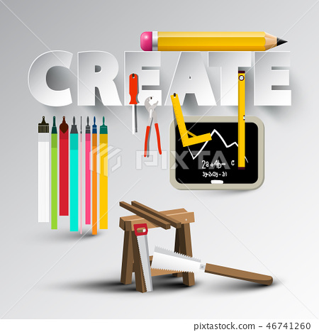 Create Design with Creative Tools 46741260