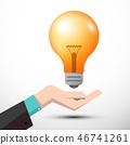 vector, bulb, light 46741261