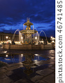 Fontaine des Fleuves in Paris 46741485