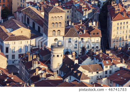 Grenoble architecture - aerial view 46741783