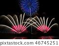 Hitotsugawa fireworks display 2018 46745251