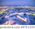 Goryokaku in winter 46751344