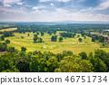 golf field landscape 46751734