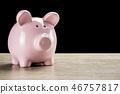 pig bank pink 46757817
