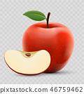 蘋果 水果 向量 46759462