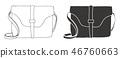 bag, black, handbag 46760663