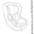 seat,car,vehicle 46760707
