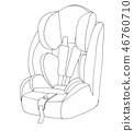 seat,car,baby 46760710
