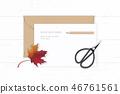 잎, 벡터, 종이 46761561