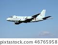 เครื่องบินลาดตระเวน P-1 ในเที่ยวบิน 46765958