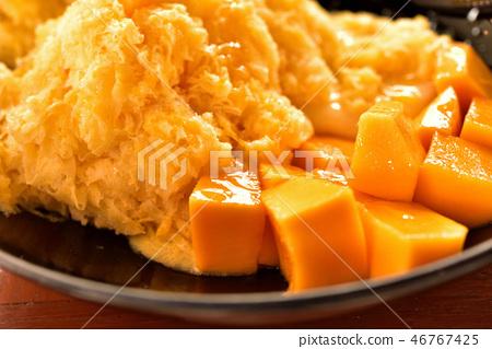 在清邁吃芒果刨冰 46767425