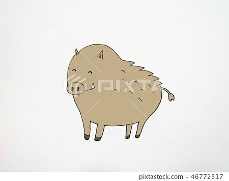 野猪 46772317