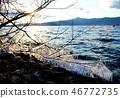 琵琶湖 寒冬 冬天 46772735