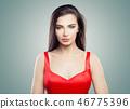 woman, hair, hairstyle 46775396