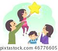 家庭 家族 家人 46776605