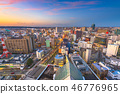 Toyama, Japan Downtown City Skyline 46776965