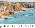 beach, brittany, sea 46779331