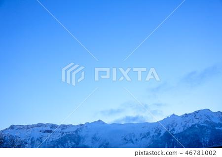 Swiss Winter cold Winter blue mountain 46781002