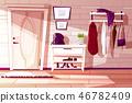 room interior rack 46782409