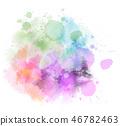 paint watercolor vector 46782463