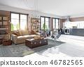 room interior sofa 46782565