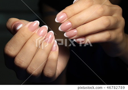 Sexual pink manicure 46782789