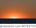 Colorful sunset in the horizon 46784759