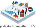 chart, business, financial 46788172