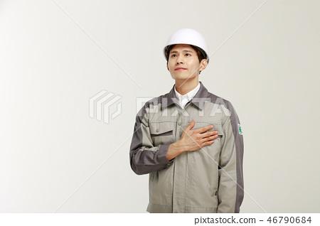 전문인, 직업, 남자, 젊은남자  46790684