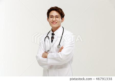 의사, 전문직, 남자 46791338