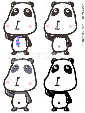 panda, pandas, animal 46793397