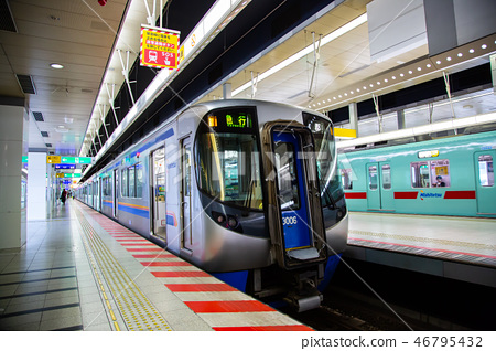 日本九州電車交通Japan Kyushu Train Traffic 46795432