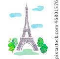 에펠 탑 46801576