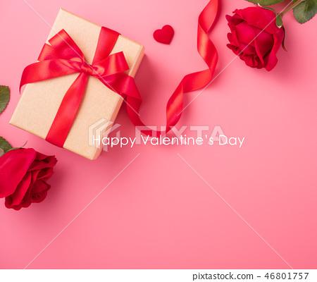 情人節白色情人節禮物瑞帶琞縶瑰寶瑰愛心情人節情人節 46801757