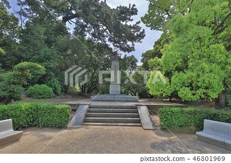 Ritsurin Park, famous historical gardens at japan 46801969