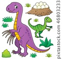 Dinosaur topic set 8 46803233