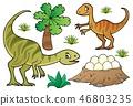 Dinosaur topic set 7 46803235