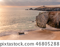 beach, sea, landscape 46805288