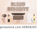 cloud, security, online 46808283