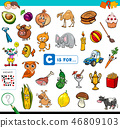 C is for educational game for children 46809103
